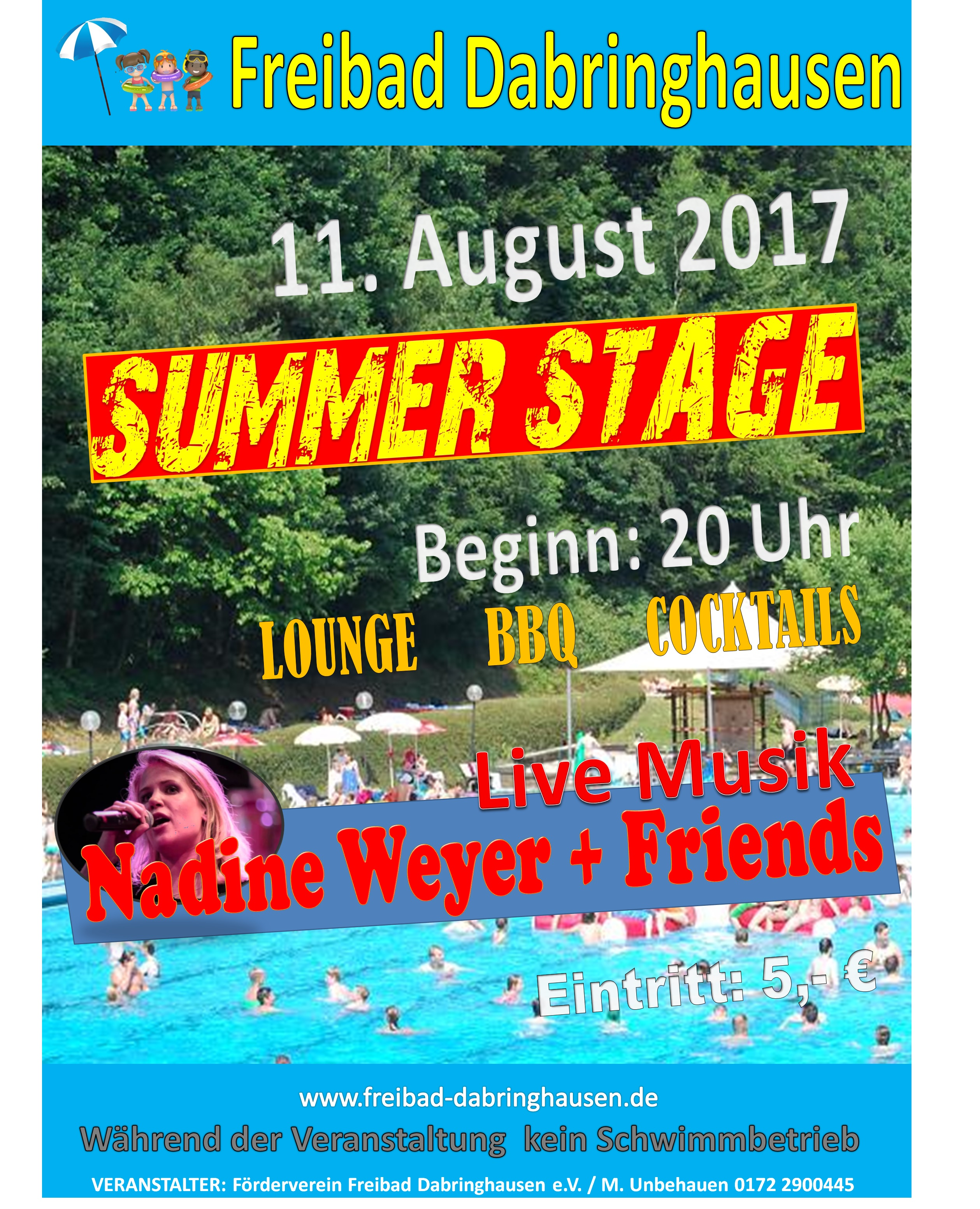 Plakat Summer Stage